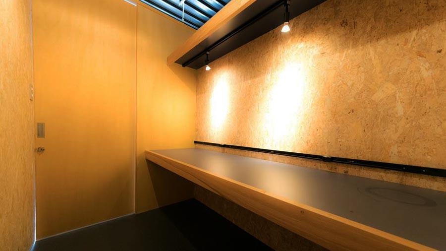 個室は落ち着いた雰囲気です。