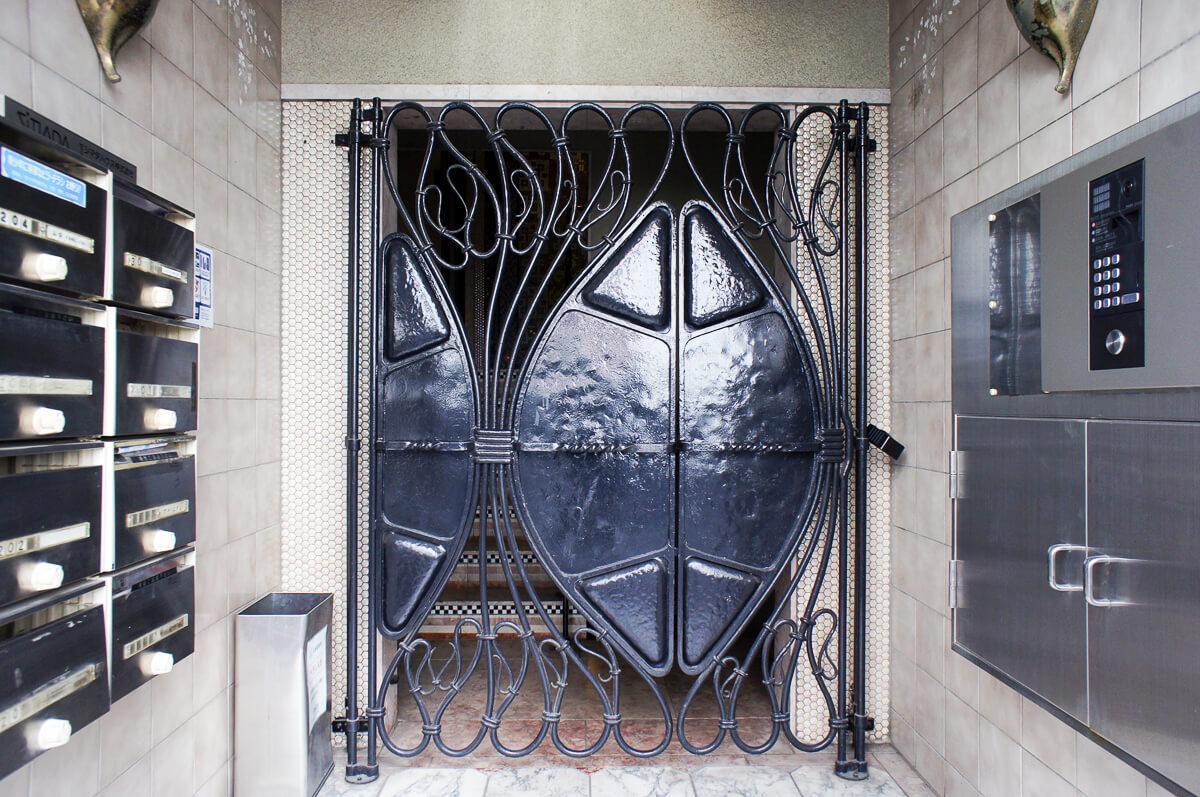 オートロックの門扉