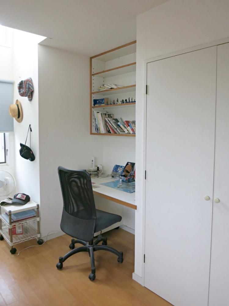 個室は共通してこのような内装です