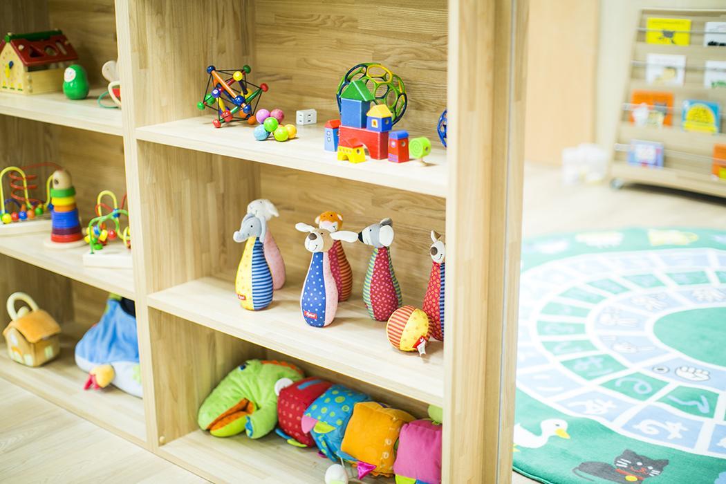 3階:保育に使われる玩具はこんなチョイス