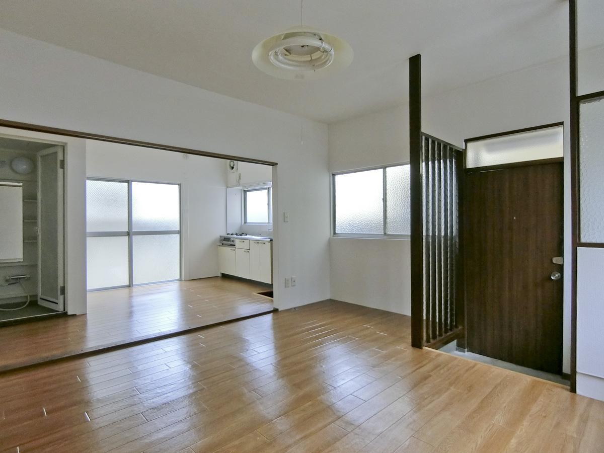 1階:床はクッションフロア