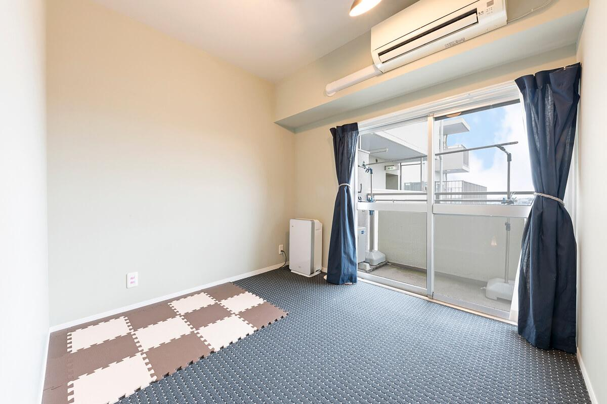 3.2畳の洋室には、2.9畳のウォークインクローゼットが付いています