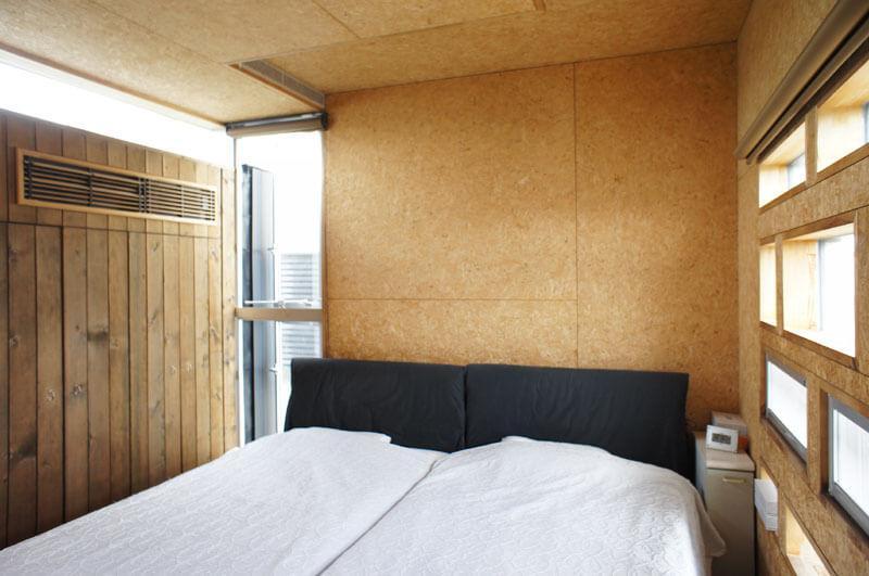 3階寝室 収納は壁面より外側に突出?