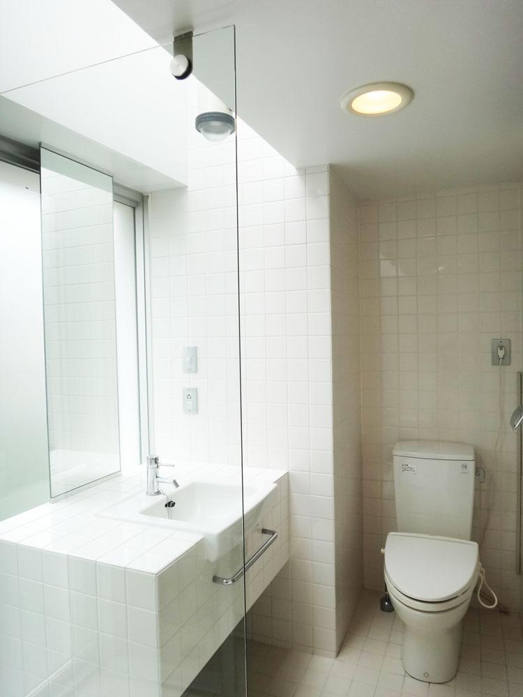 洗面・トイレ・お風呂は同一の空間です