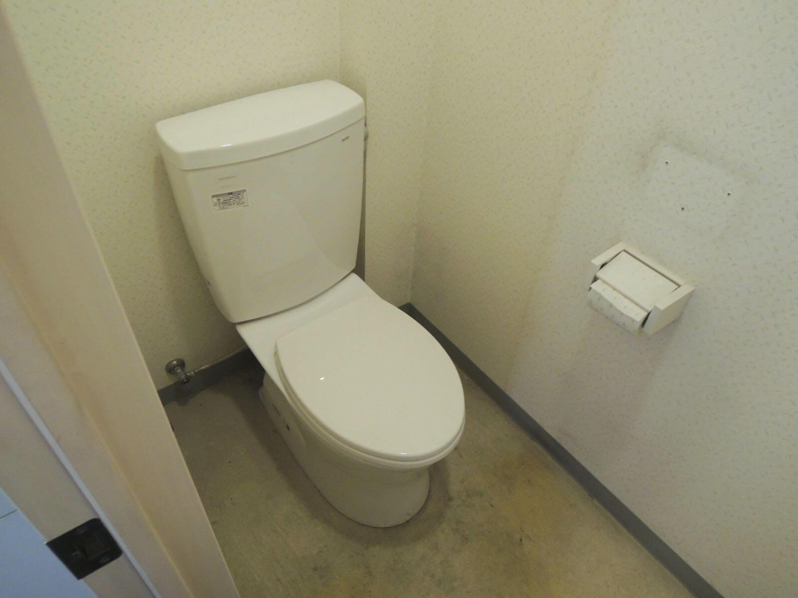 トイレがあるのも1階だけ。
