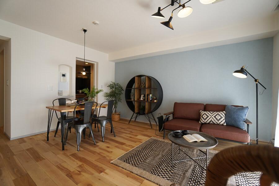 シンプルな間取りなので、家具のレイアウトもしやすそう。