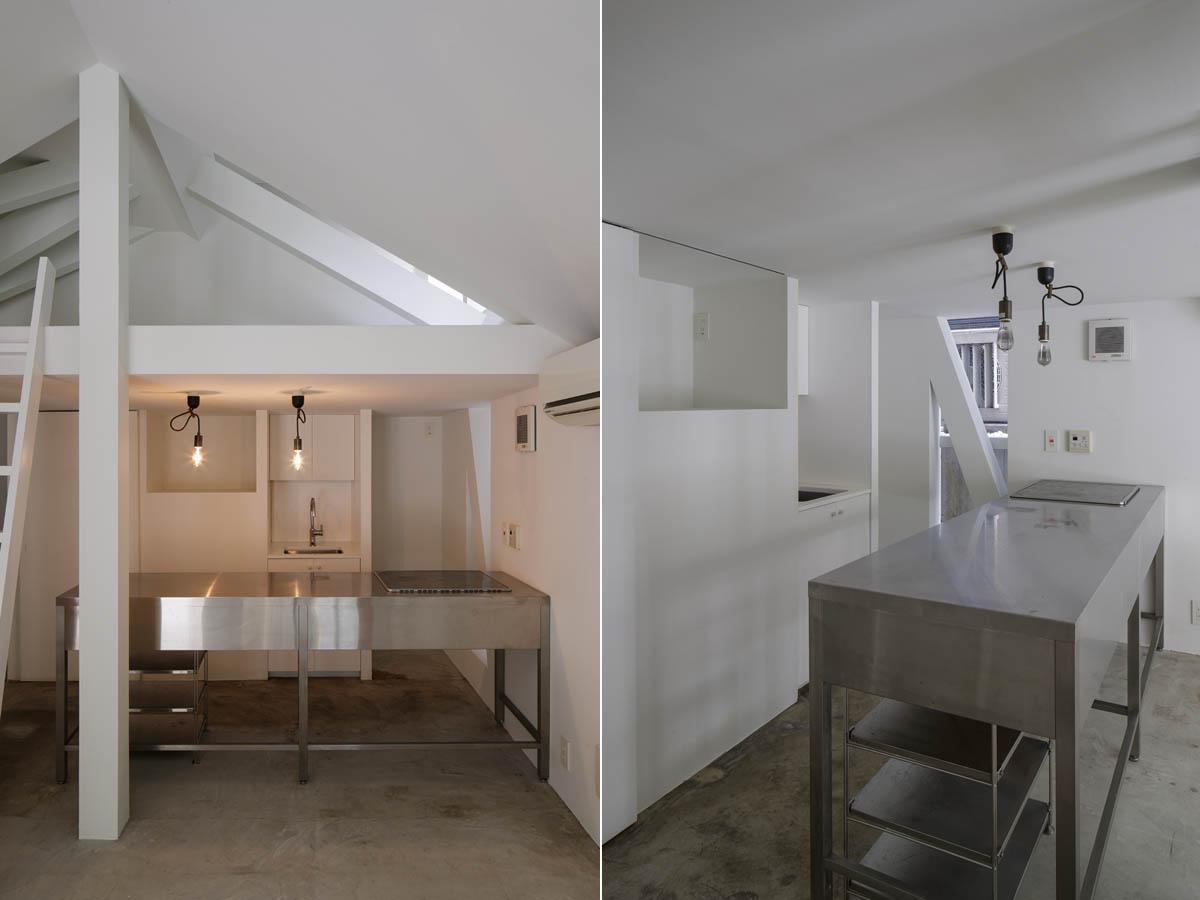 厨房のようなシンプルなキッチン