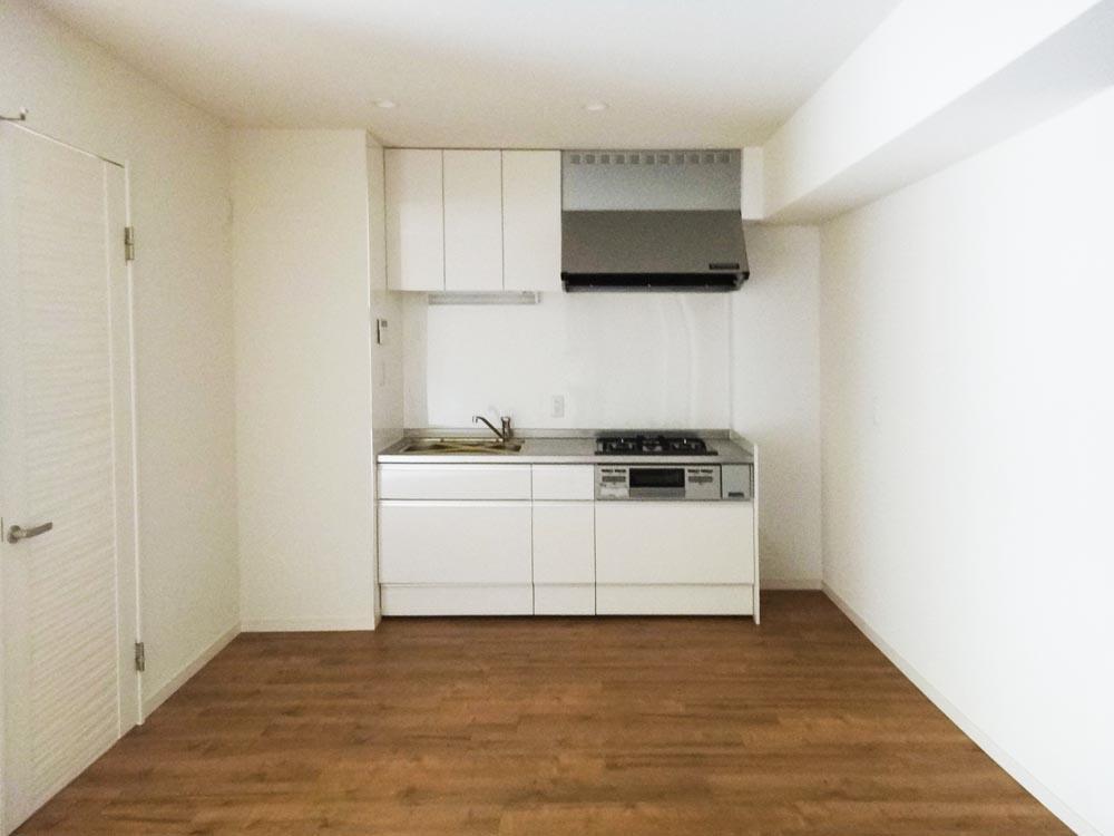 キッチンは新規交換済みです。
