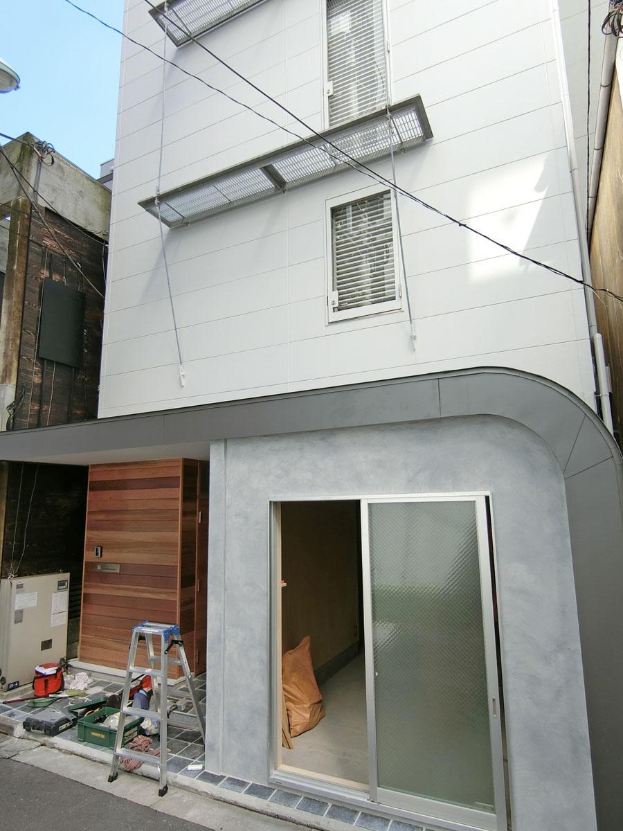 上の区画は住居でオーナーが入居予定