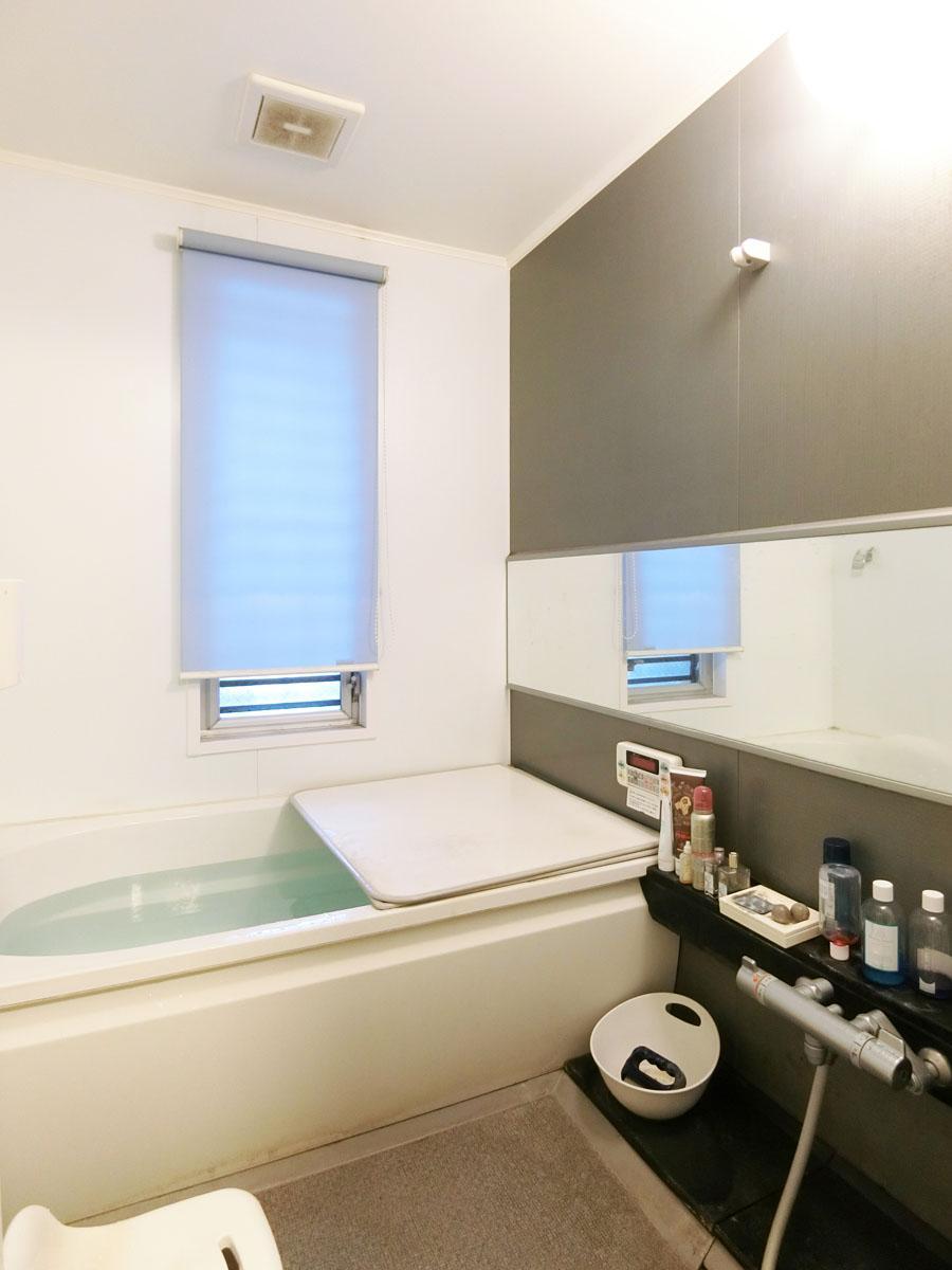 浴室もきれいで追いだき付き