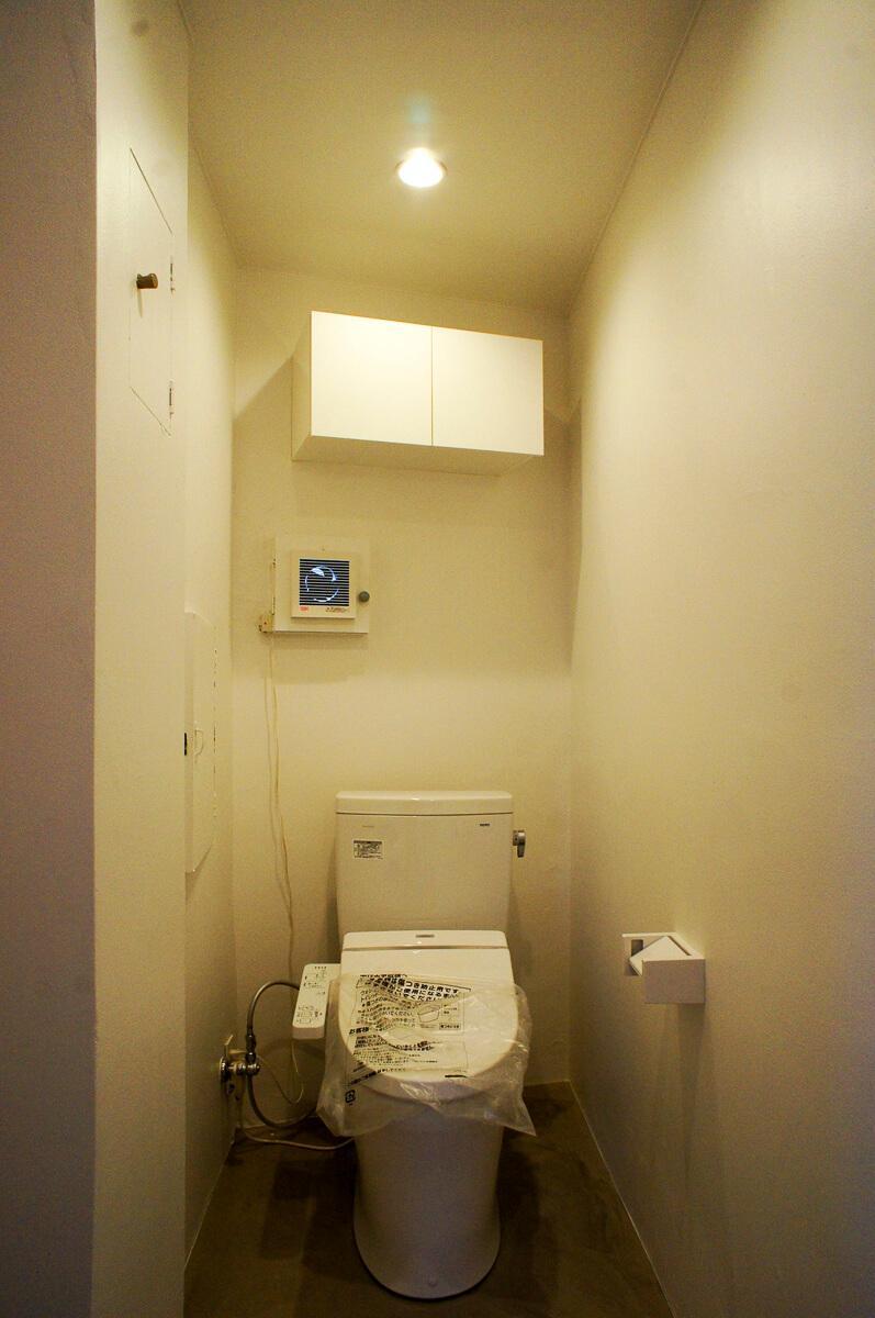 トイレは1カ所