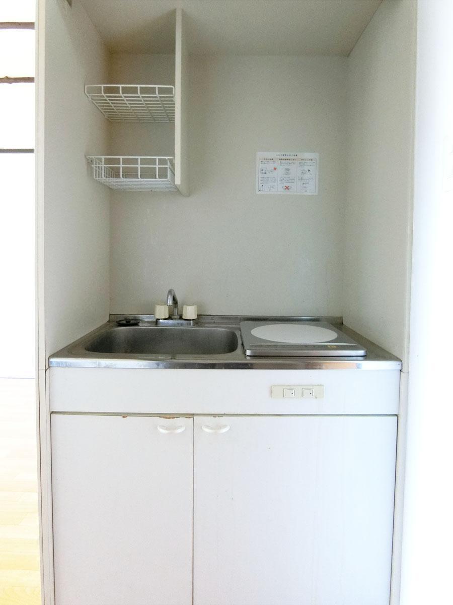 新しくIHコンロが設置されたキッチン