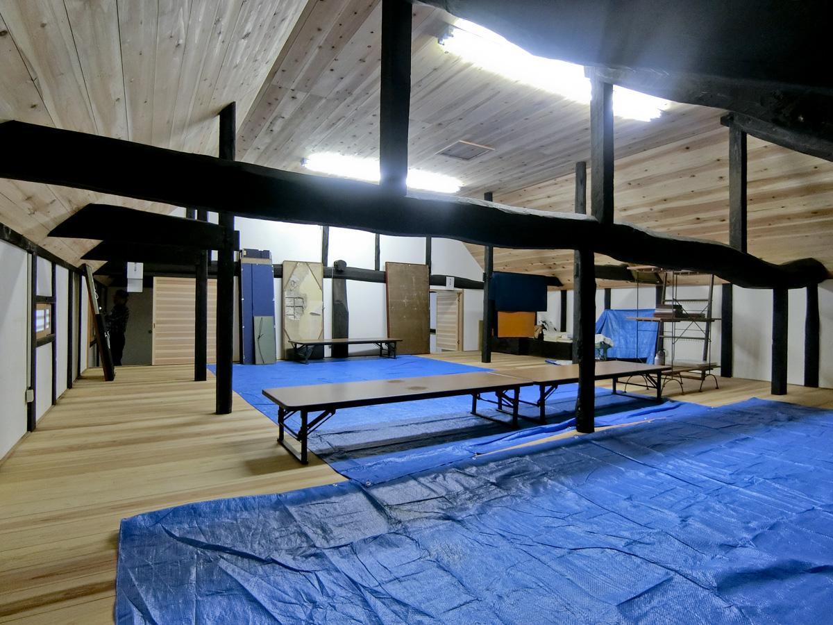 2階:ここでは教室やワークショップもできそう