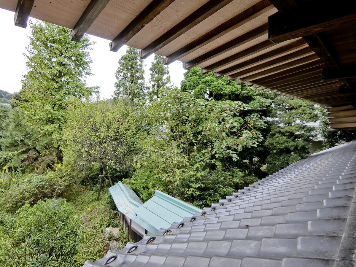 2階:きれいに整った屋根