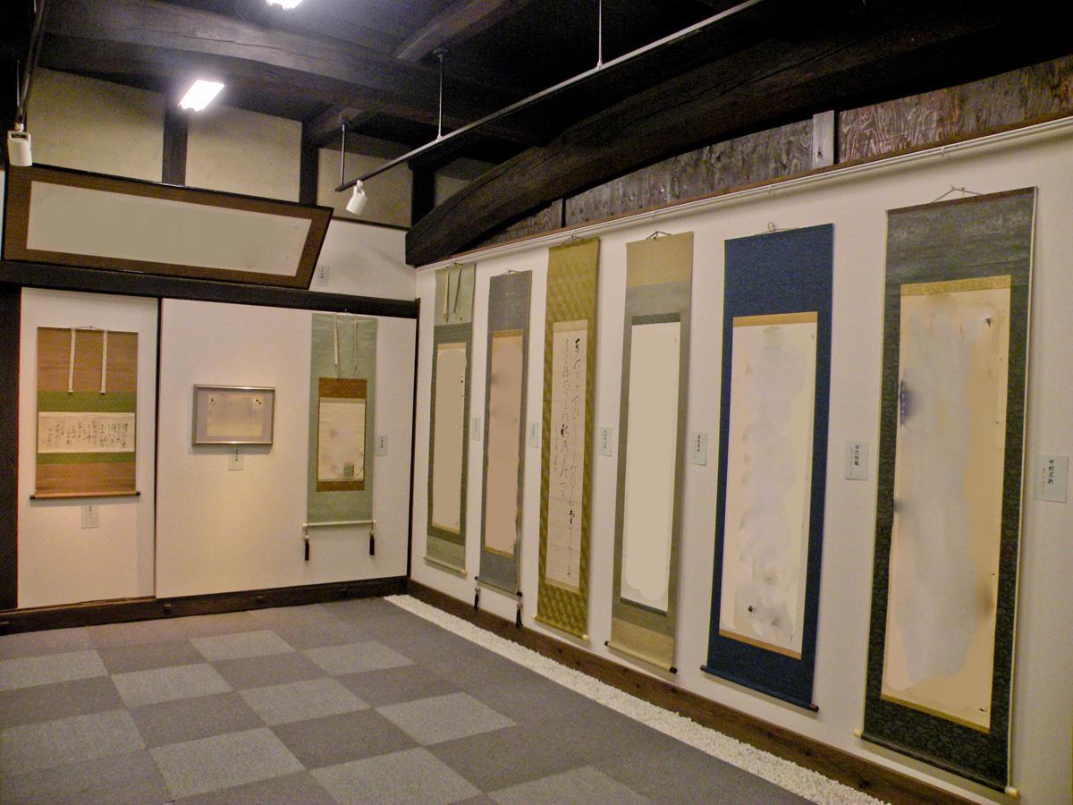 1階:古美術のギャラリーが開かれた際の状態