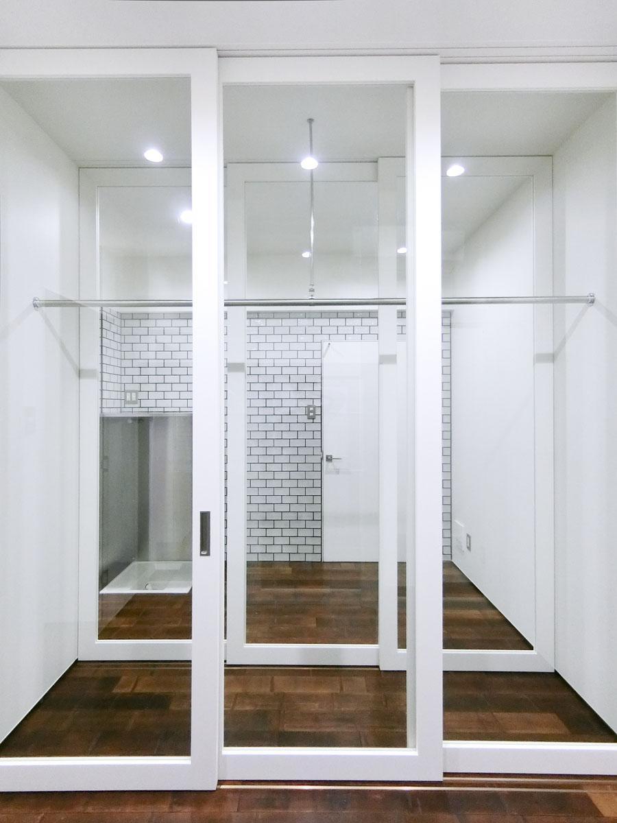 102号室:見せる収納