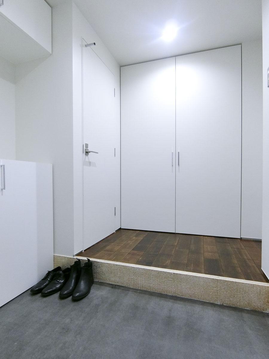 102号室:玄関が広いです