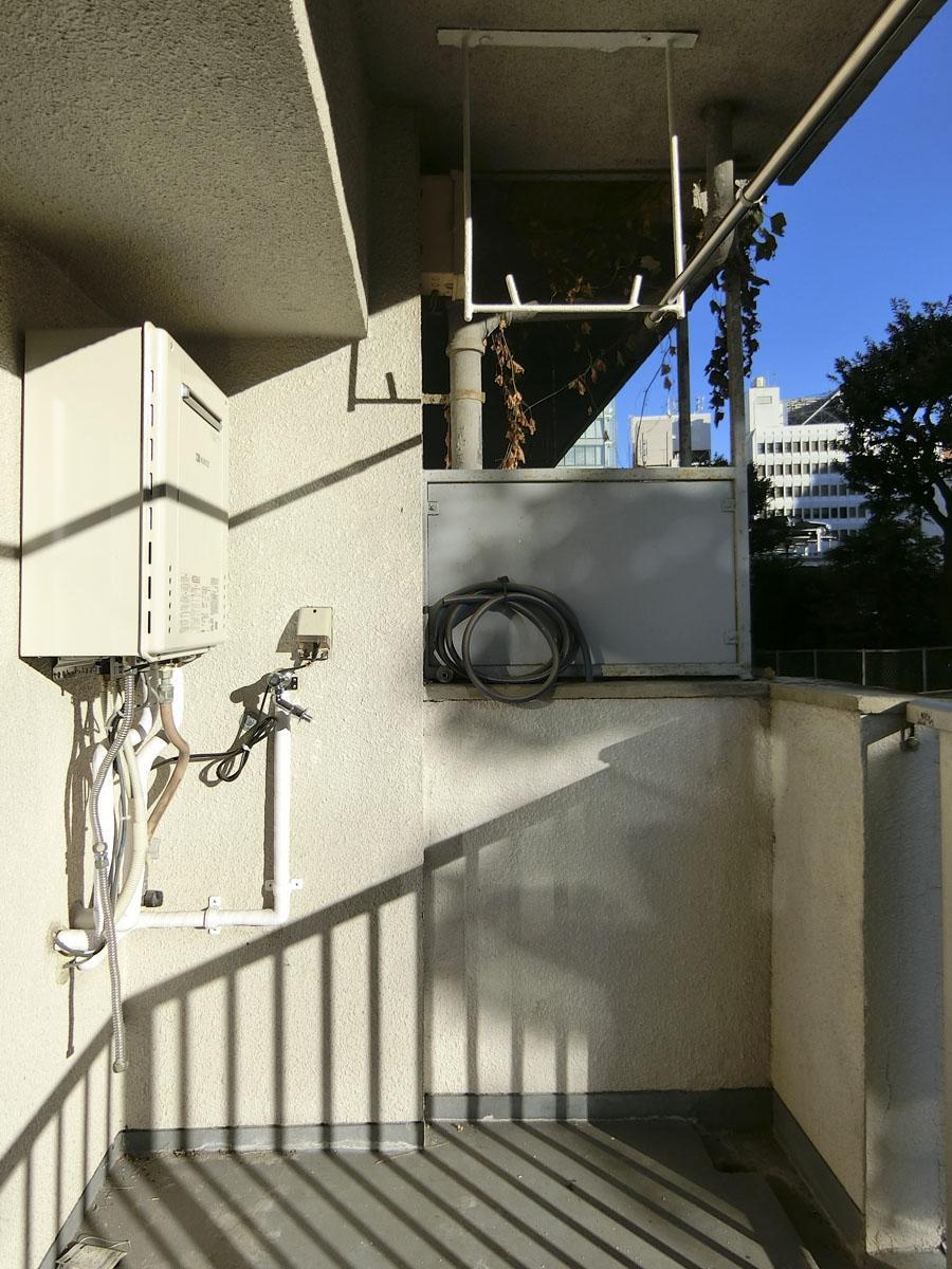こちらが洗濯機置き場