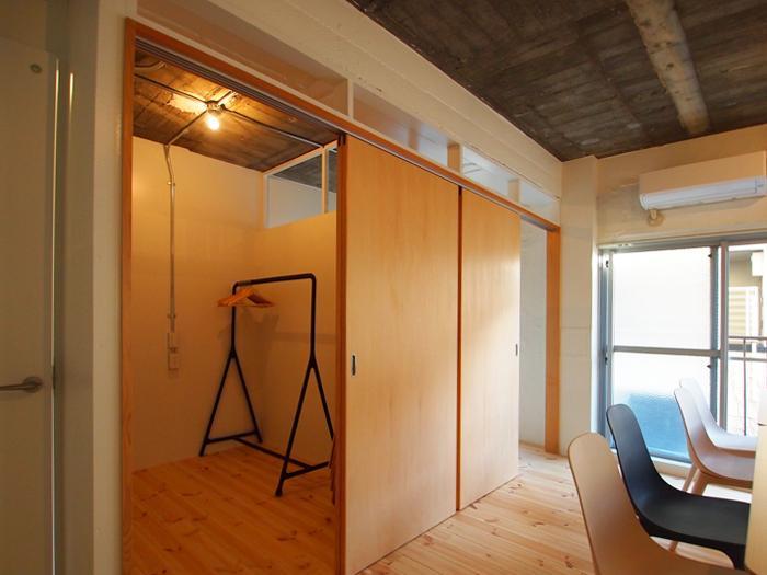 個室が2部屋あるのは使い勝手がよさそう(301号室)