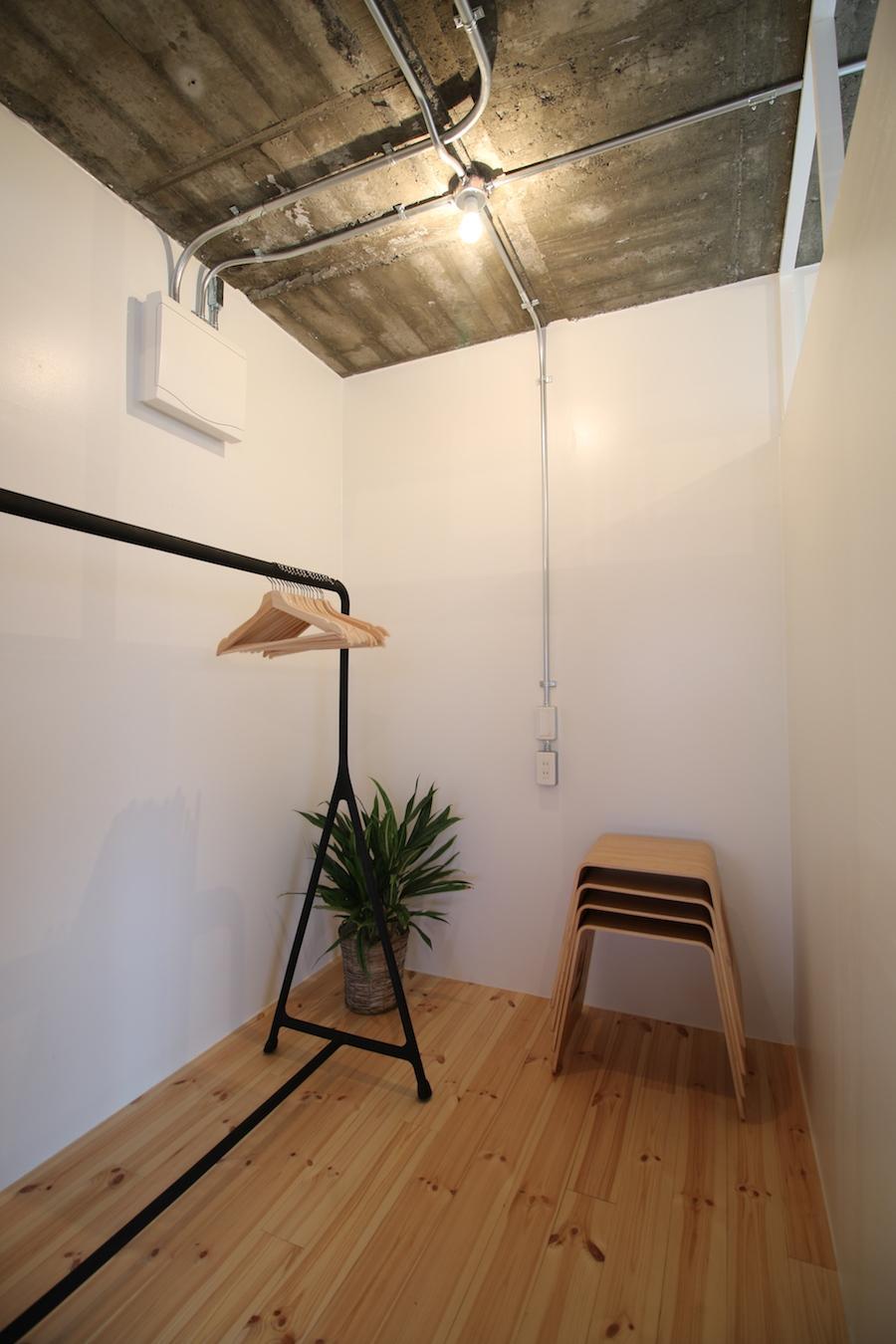 もう1部屋は収納部屋にしても、書斎にしても(301号室)
