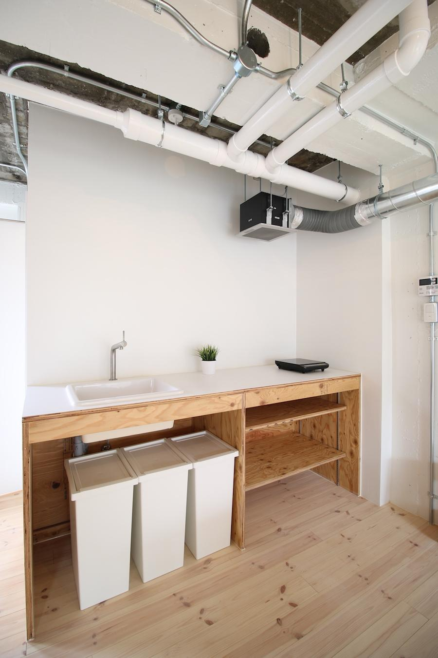キッチン(302号室)