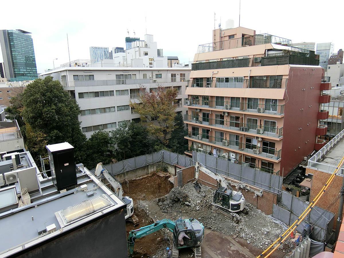 建て替え工事は2019年9月まで予定されている