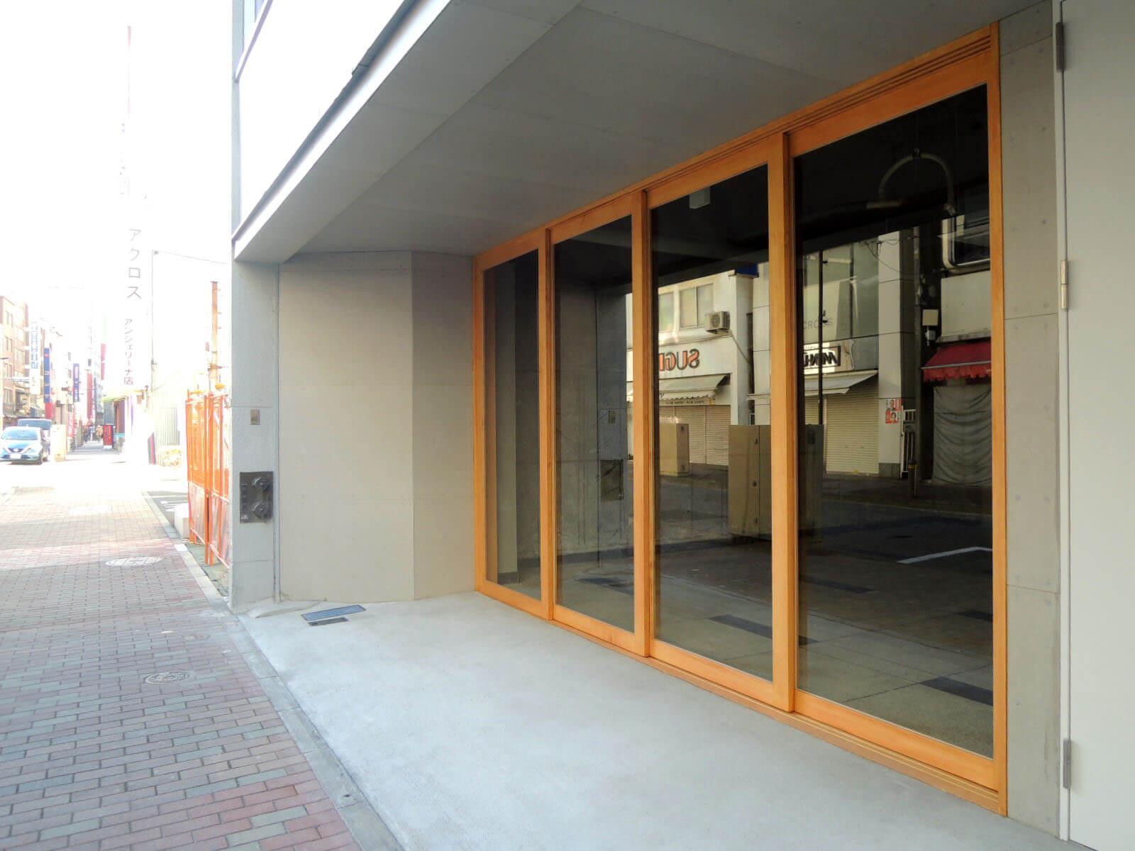 1階の店舗区画に何が入ってくれるかも楽しみ。
