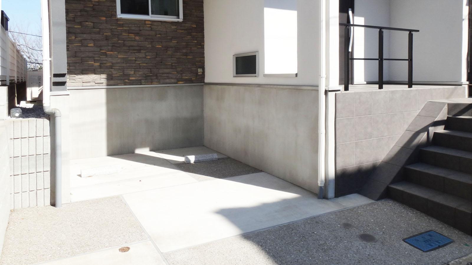 駐車スペース付きです