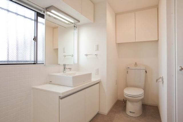 洗面・トイレ(102号室)