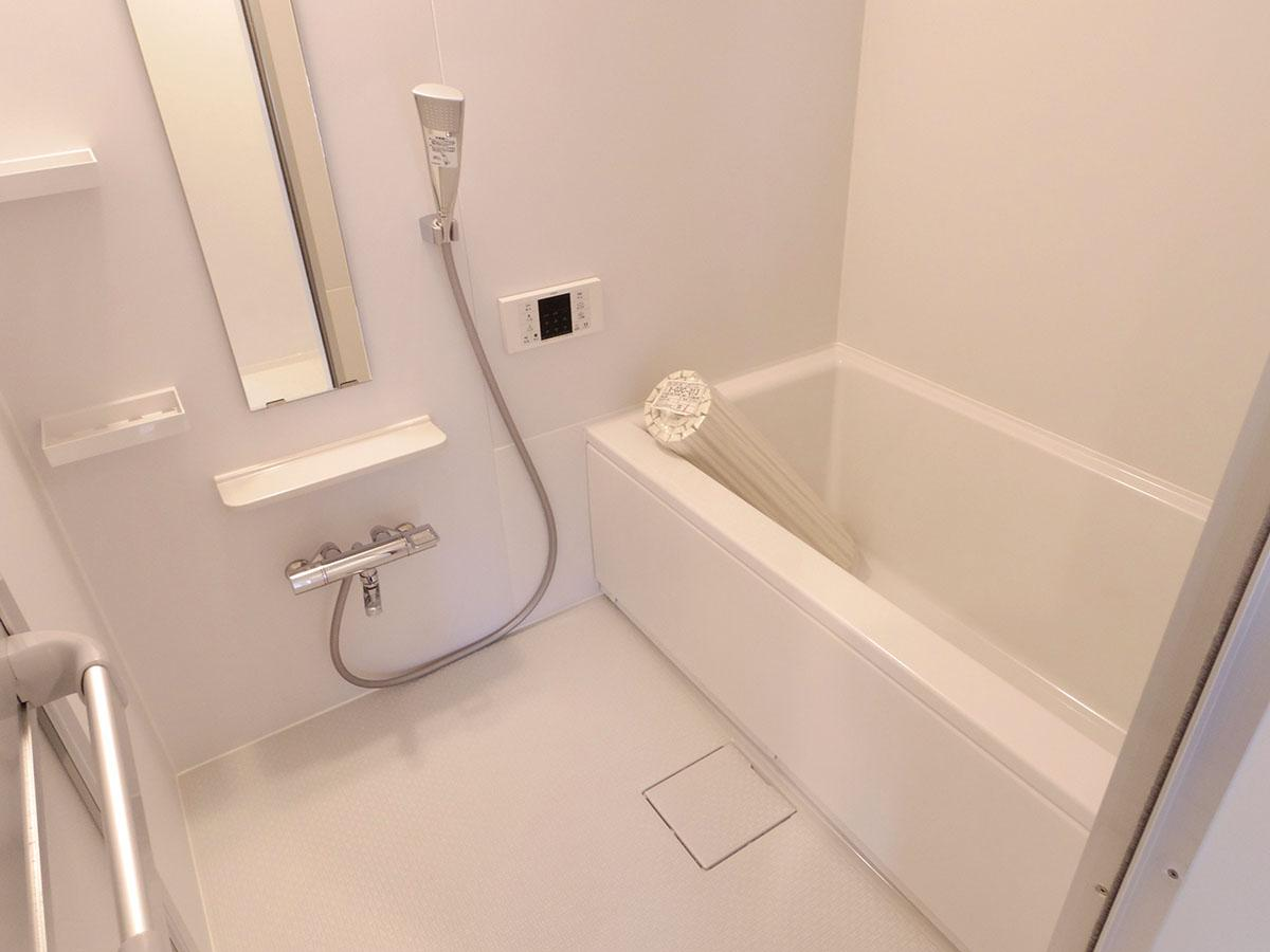 各部屋、風呂のサイズは同じです
