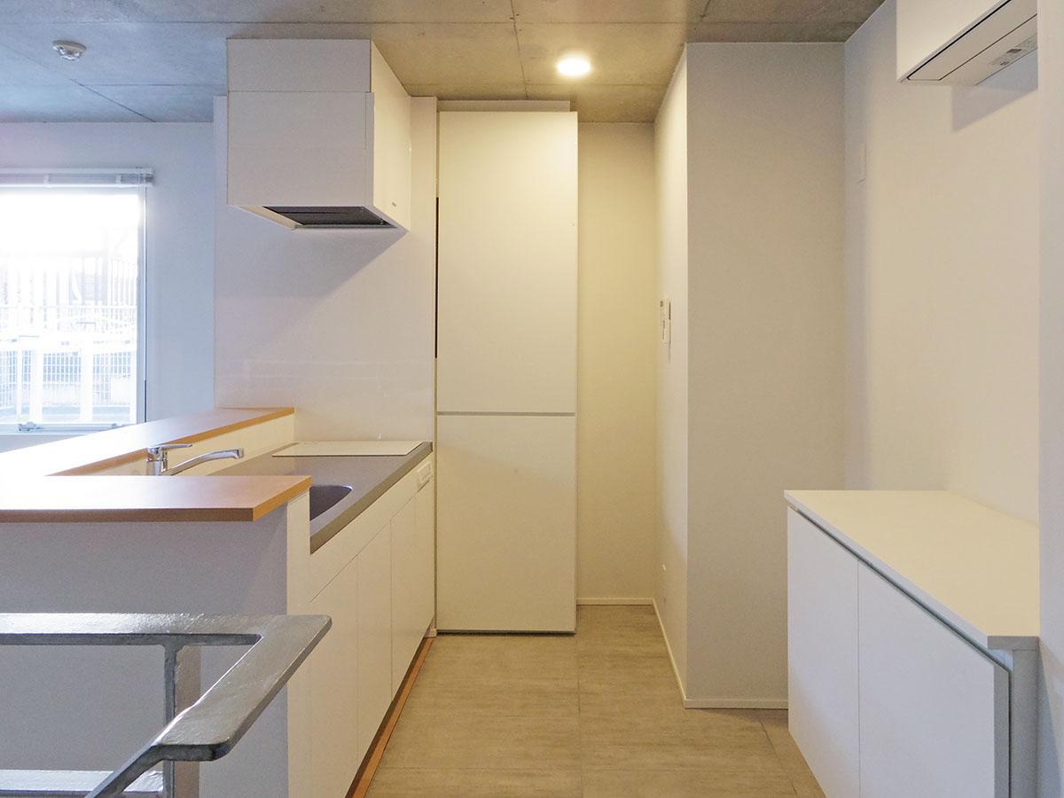 205号室:キッチン周りにゆとりがあります