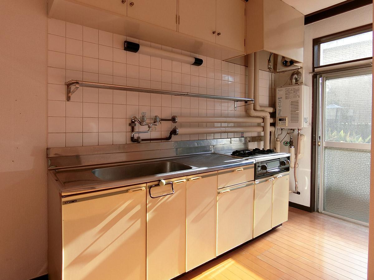 ゆとりがあって使いやすいキッチン