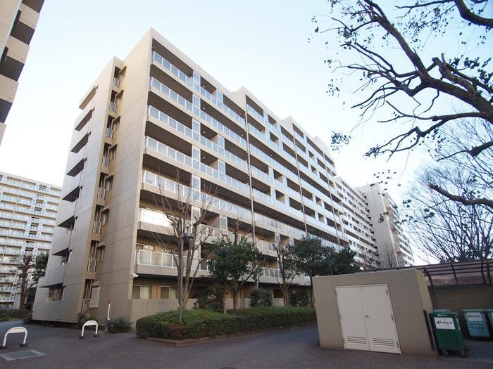 一つでも大きなこのマンションが敷地内に11棟も立っている