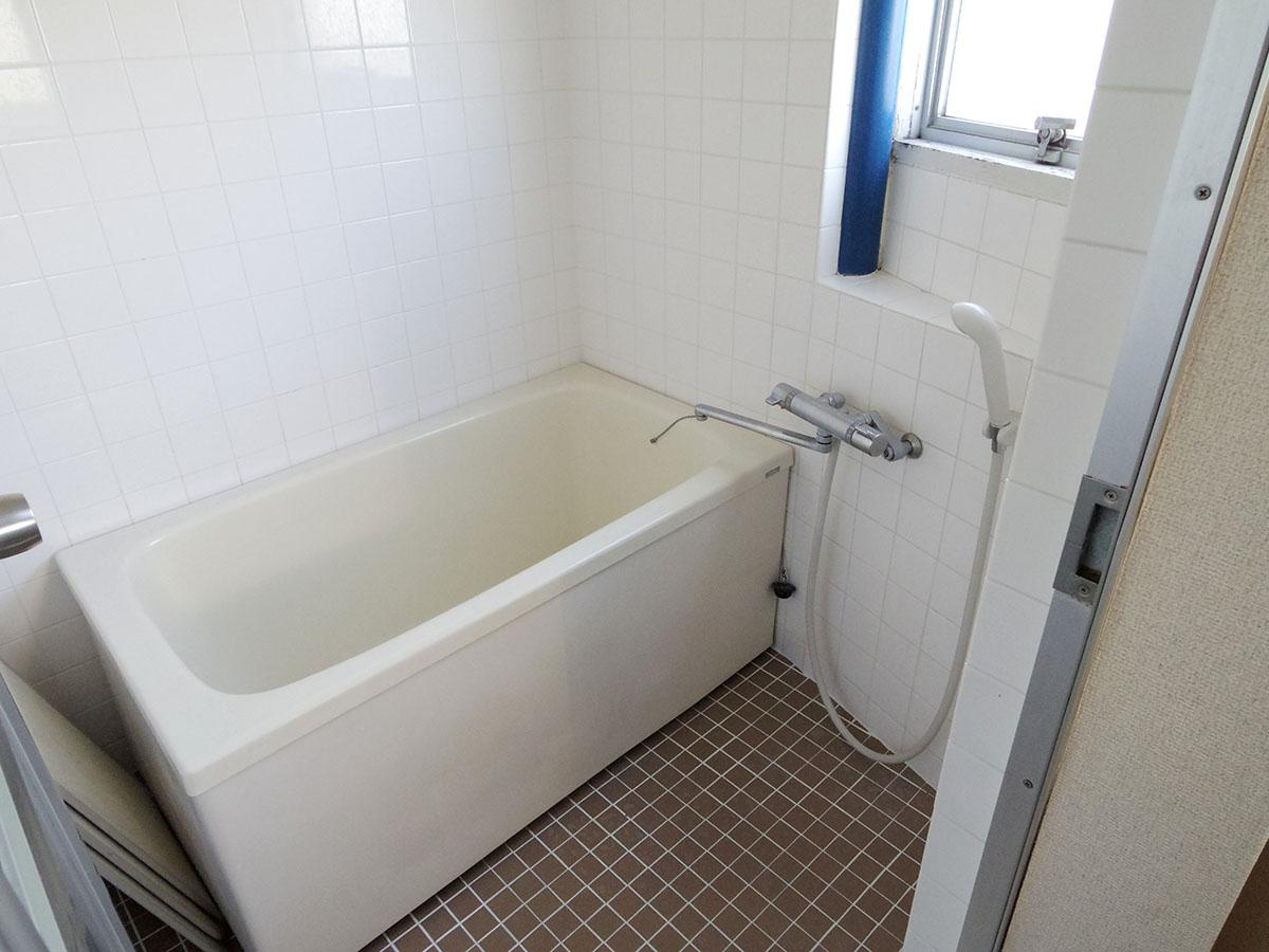 風呂に窓があるのもうれしい