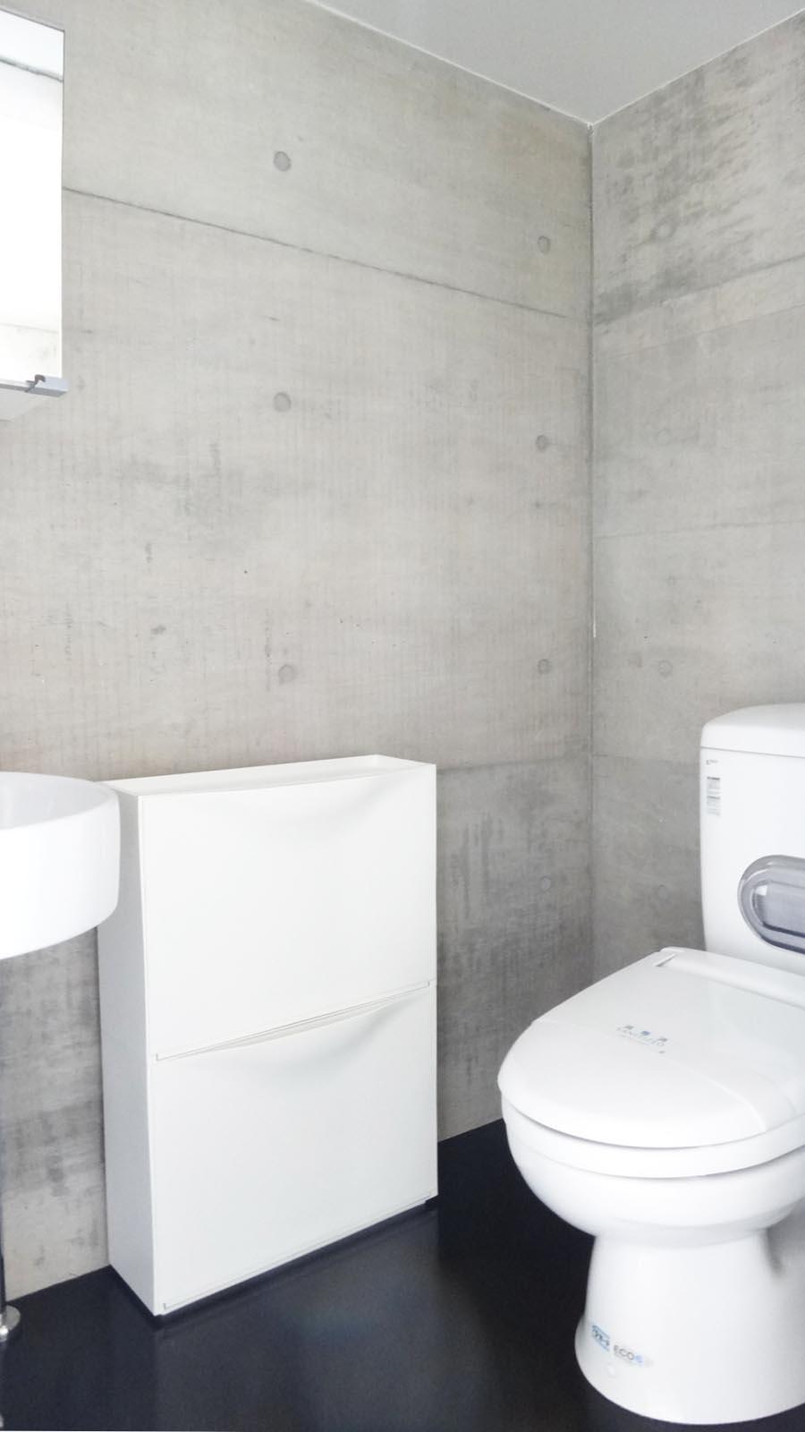 トイレと洗面は同室