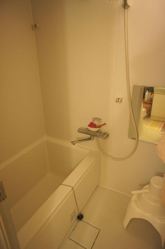 バスルームもそのまま使えます