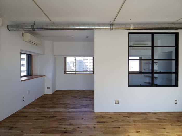 窓が各部屋にあり、明るく気持ちいい