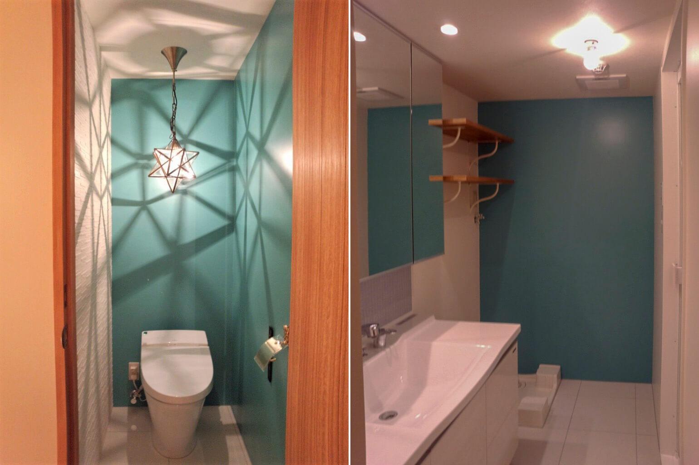 トイレと洗面室