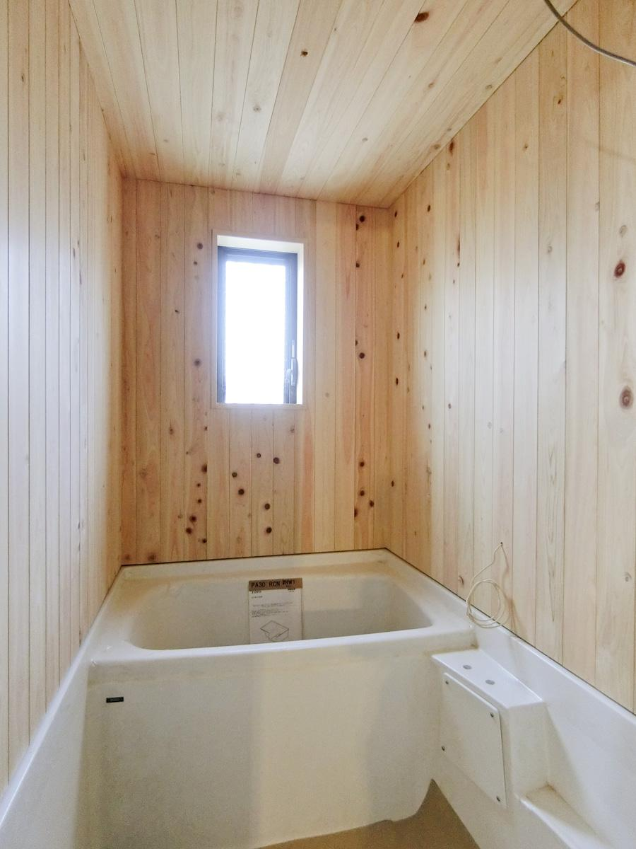 ヒノキの風呂