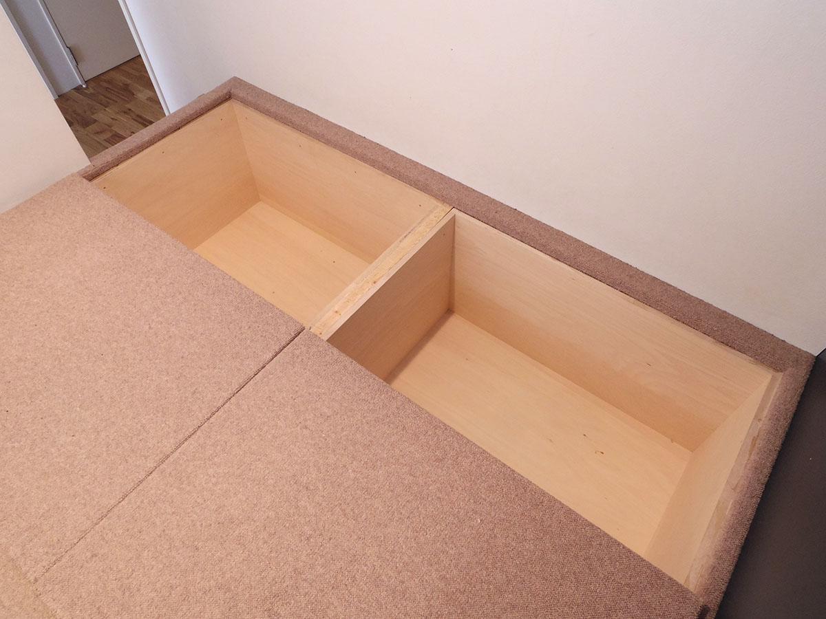 3.4畳の洋室には床下収納