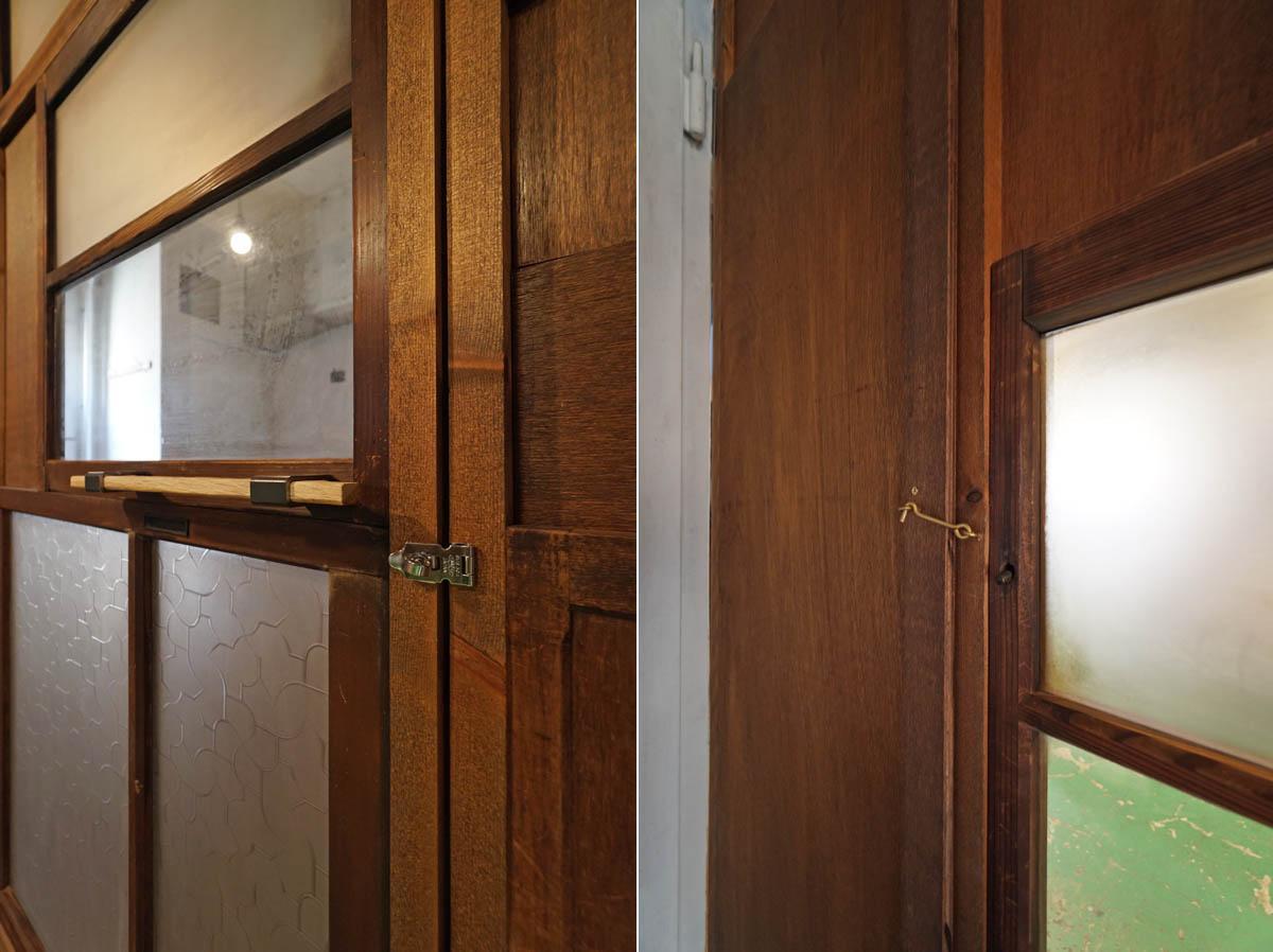 個室タイプのみ、南京錠などで施錠が可能になっています