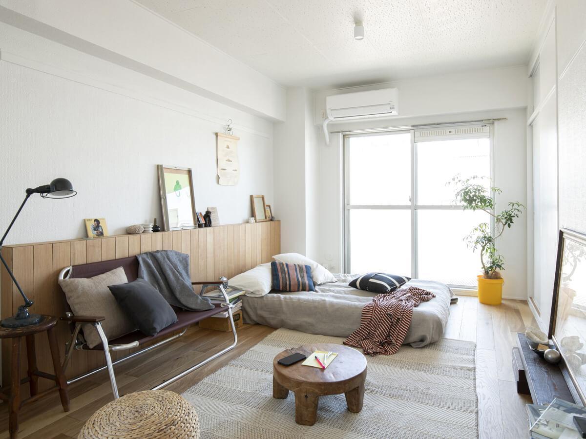居室部分はシンプルに。ゆったりと過ごせそう。