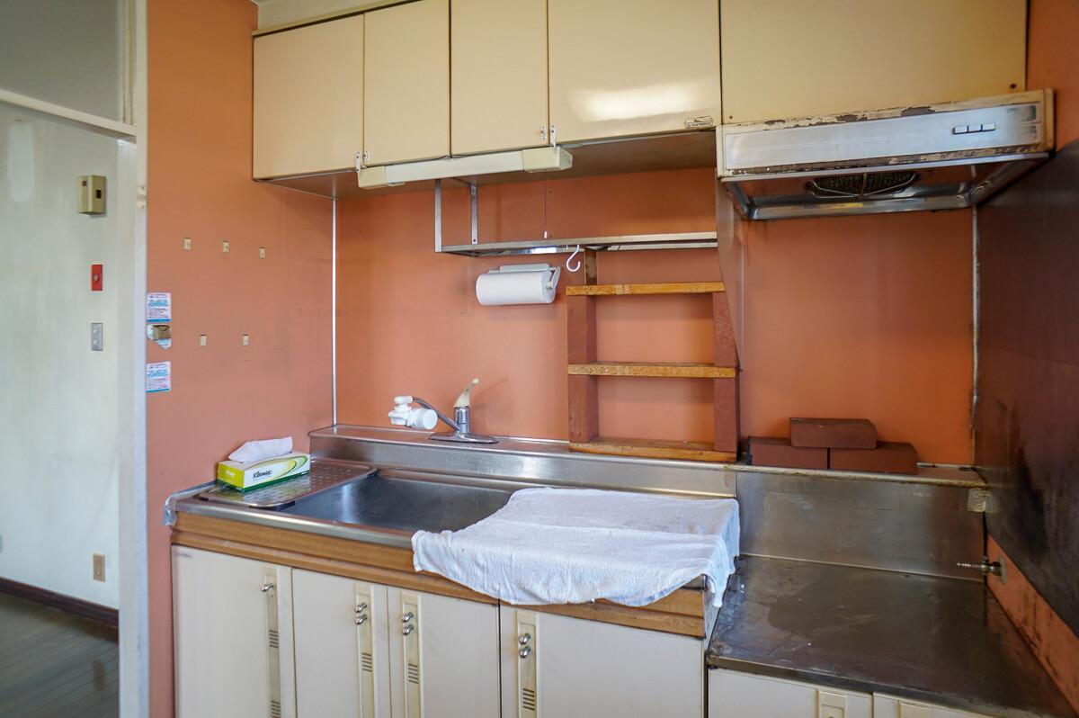 キッチンもそのまま使うのは厳しそう