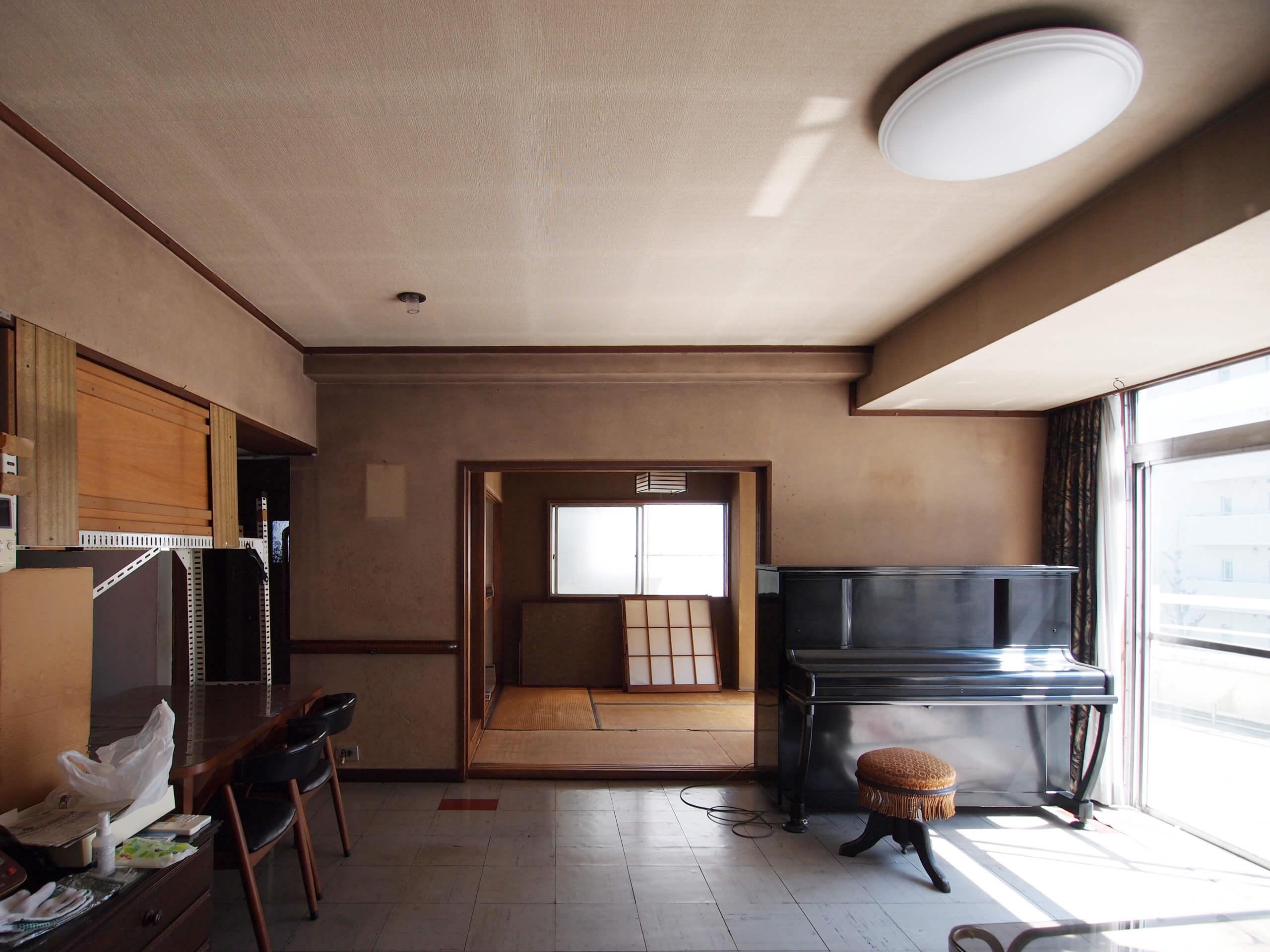 【3階】間仕切り壁は解体できるので和室までひとつながりの空間にできる