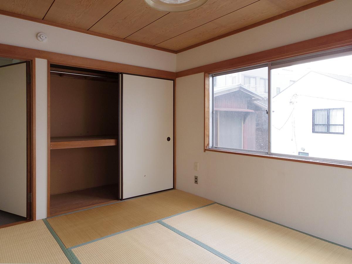 2階、6畳の和室