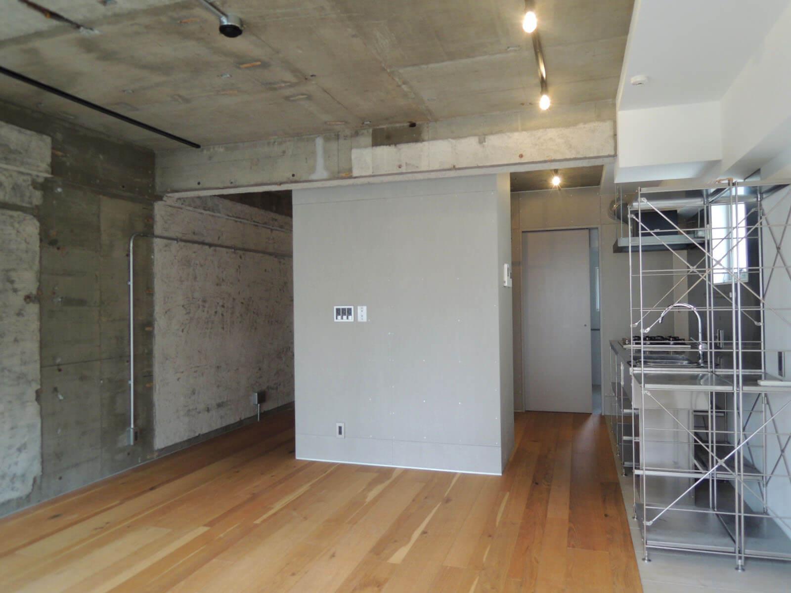 壁面が多いから家具のレイアウトはさほど困らなそう。