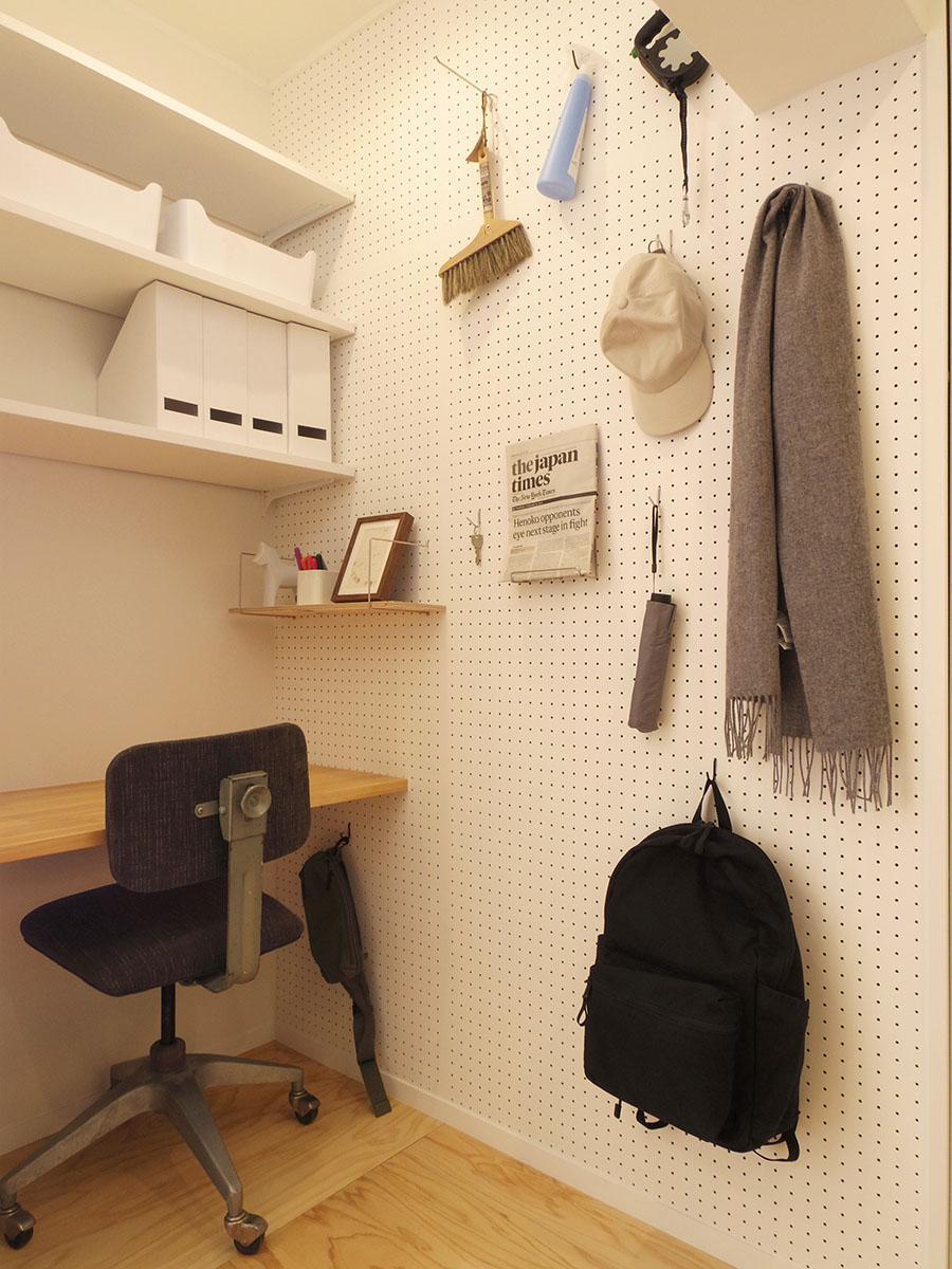書斎スペース。収納としても使えます
