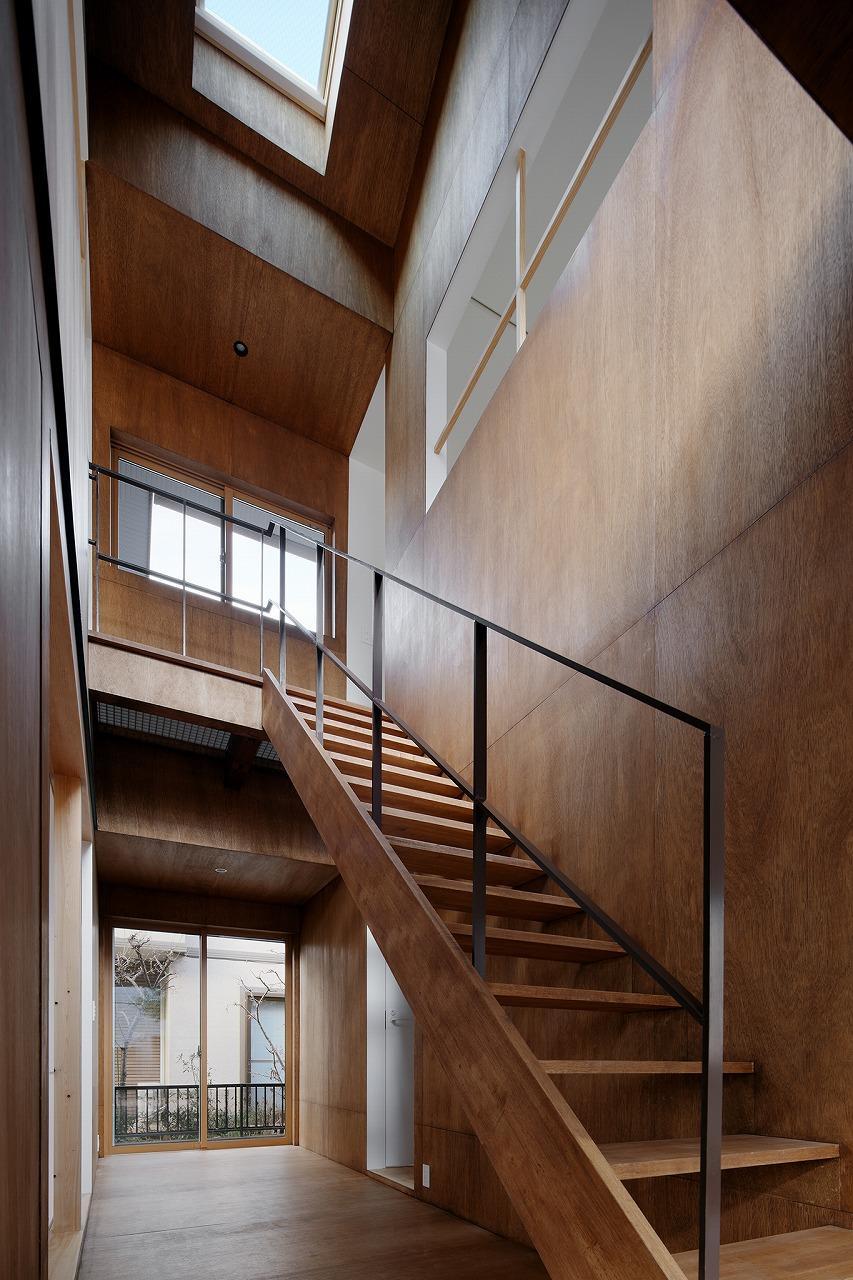 玄関を入った先に広がる「ウチニワ」 photo:石田 篤(IPS)