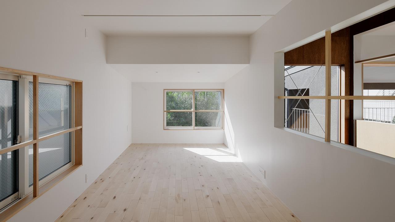 2階リビング photo:石田 篤(IPS)