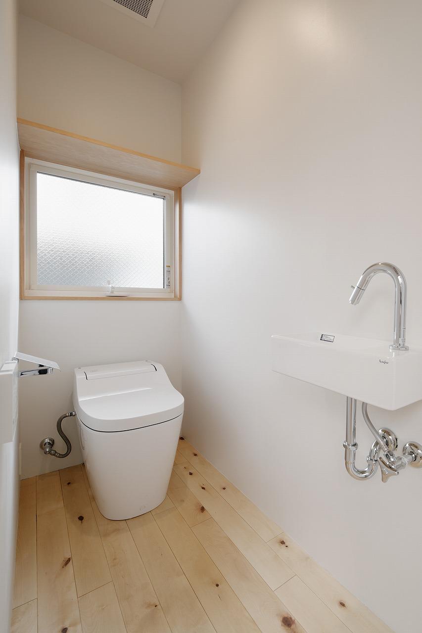 シンプルな水回り photo:石田 篤(IPS)